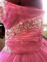 Beaded Prom Dress 4 by phantomonex