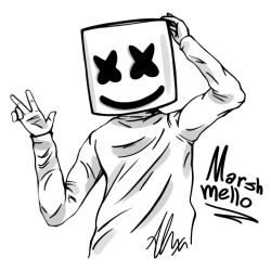 Marshmello by HappyWasabii