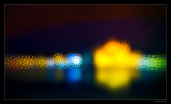 Hungarian Parliament Bokeh by miki3d