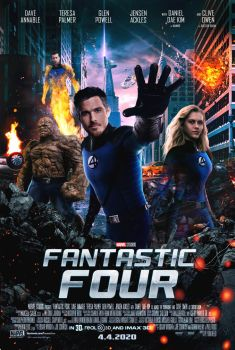 MCU Fantastic Four Movie Poster by MarcellSalek-26