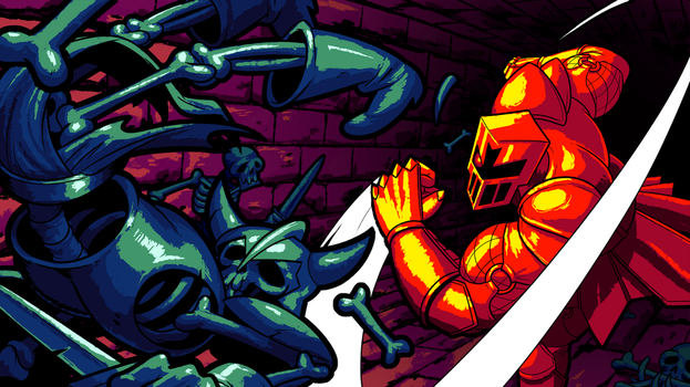 FIGHT KNIGHT by AngusBurgers