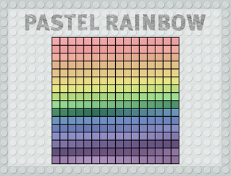 Pastel Rainbow by Arvin61R58