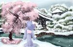 Under the cherry tree by nienor