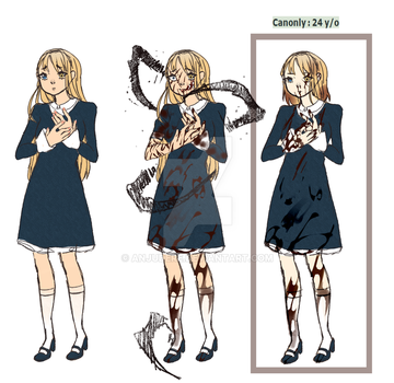 [Reference Sheet] Emily by AnjuDere