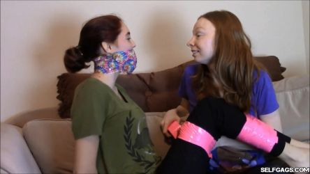 Tied And Tape Gagged by Selfgags