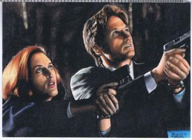 Scully and Mulder PSC 3 by jenchuan