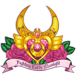 Sailor Moon Tattoo Design by enixyy