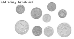 old money brush set by cherriebomb