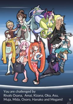 Rivals Have Challenged You to Battle!! by byebaicai