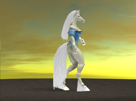 Beth The White Guardian by S-White-Pony-Kidwell