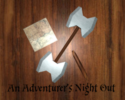 Adventurer's Night Out by techwizrd