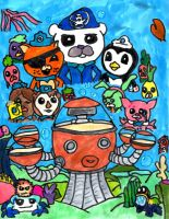 Octonauts by SonicClone