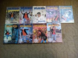 Dylan Dog Comic Collection from 1 to 9 by NecromancerKing85