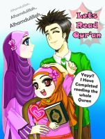 Keeping a Daily Relationship with the Qur'an by AynT-90