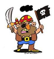 Pirata by ZeroCartoon
