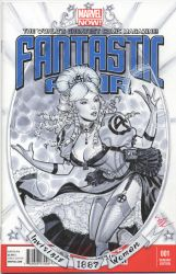 Invisible Woman 1887 by MichaelDooney