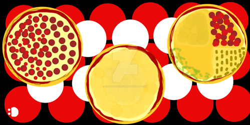 Pizza Pies by RubyShapphire4765