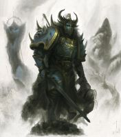 Chaos Knight by Joel-Lagerwall