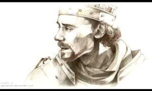 Henry V the King by kleineHerz