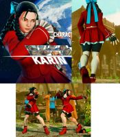 Karin Shorts and Black Hair SFV by bbbSFXT