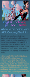 When To Add Color Holds - Tutorial by J-Skipper