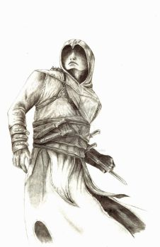 Altair Ibn-La'Ahad by GothicAlchemist7X
