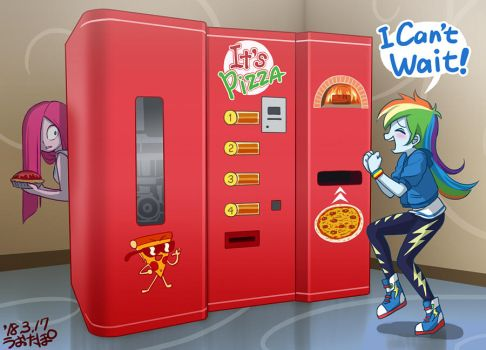 Pizza Vending Machine by uotapo