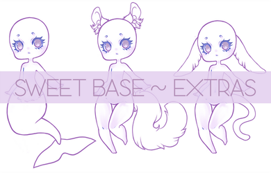 Sweet Base P2U EXTRAS by WithyArt