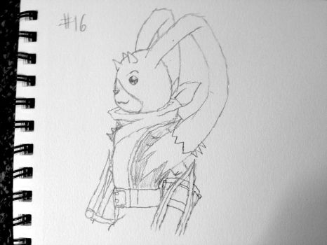Digimon Sketch Challenge: Day #16 by Omnimon1996