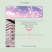 Cherry Blossom Profile Code [f2u] by Coding-by-Fiona