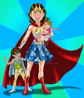Super Mom by danitoons