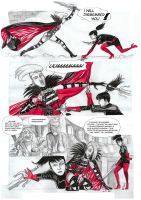 Red Marquise Vs Kirate the assassin 05 by yacermino