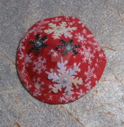 Kate's Snow Flakes Patch-Red by Yonaka-Yamako