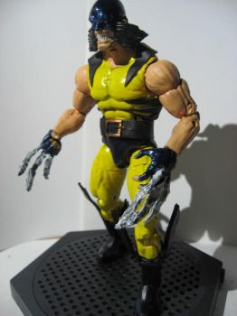 Feral Wolverine custom action figure by custom777