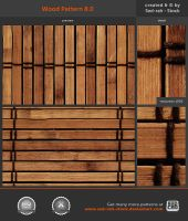 Wood Pattern 8.0 by Sed-rah-Stock