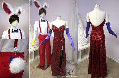 Roger Rabbit and Jessica Rabbit costume by Firefly-Path