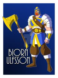 Biorn Ulfsson- The Warrior of Baldur (DCOC) by TheScarletMercenary