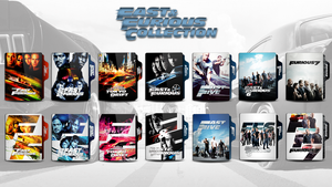 Fast and Furious Collection Folder icon by faelpessoal