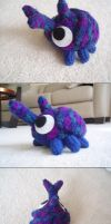 Beetle Crochet by FroggiiDragn