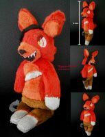 Five Nights at Freddy's Plushie - Chibi Foxy by HipsterOwlet