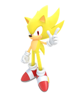 Super Sonic by Cyberphonic4D