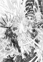 The Wellkeeper 7 Cover pencils by derrickfish