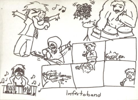 INFECTOBAND by Sabeku
