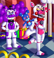 It's Cute! It's Mine Now! by FNaF2FAN