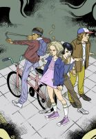Stranger things by reyblackwolf by ChazWest