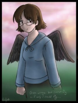 Given Wings by wytwolf