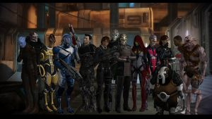 Mass Effect OC Crew v2 by Cor-Angars