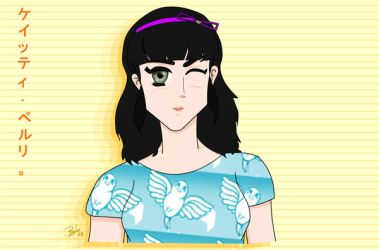 Katy Perry -my cute version- by juancpove