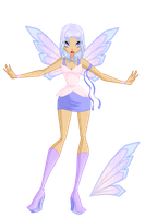 Hello, I'm Angelina, the Fairy of angelic Light! by WildieWishingStar