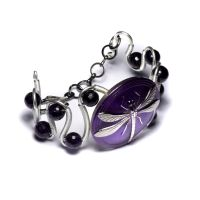 Dragonfly Bracelet by CatherinetteRings